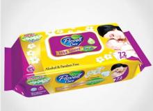 Влажные салфетки Flovell Care Fresh