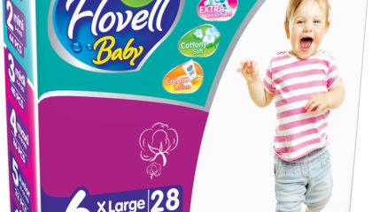 Подгузники Flovell Baby XLarge (6)